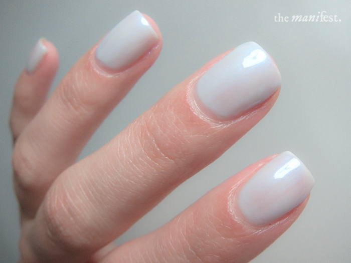 Cuccio Colors - Meet me in Mykonos, 4 coats, no top coat