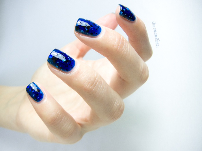 Maybelline Color Show Polka Dot - Shooting Stars.  #Glitter #Nailpolish