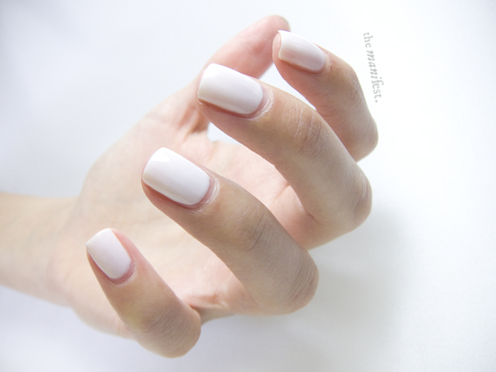 Maybelline Color Show - Winter Baby. #Nailpolish #jelly #white