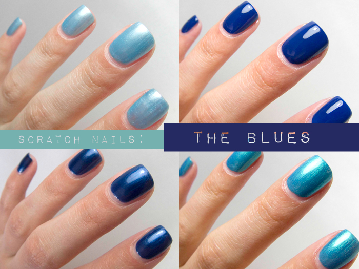 The blues of Scratch Nails